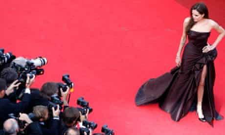 Angelina Jolie on the red carpet last year