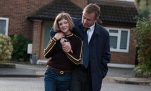 Tim Roth, with Eloise Laurence, in Broken