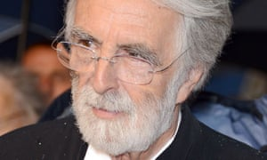 Michael Haneke attends the Amour premiere at the 2012 Cannes film festival.