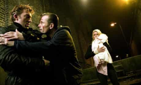 Partners in crime … Vincent Cassel, Viggo Mortensen and Naomi Watts in Eastern Promises.