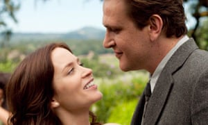 Emily Blunt and Jason Segel in The Five-Year Engagement