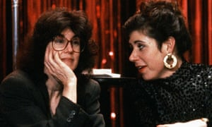 Nora Ephron on the set of This Is My Life