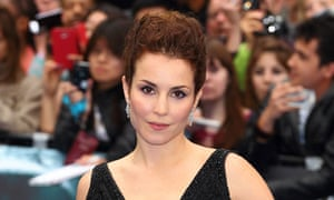 A star is bjorn … Swedish actor Noomi Rapace at the premiere of Prometheus.