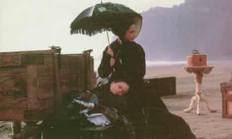 The Piano: Holly Hunter and Anna Paquin