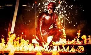 Going down in flames … Ben Affleck in Daredevil