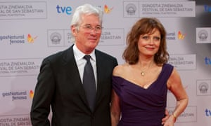 Arbitrage stars Richard Gere and Susan Sarandon at the 2012 San Sebastián film festival.
