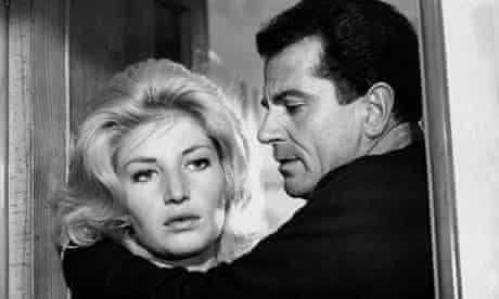 Monica Vitti and Gabriele Ferzetti in Michelangelo Antonioni's modern masterpiece L'Avventura (1960)