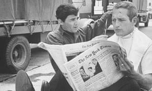 Jay Sebring and Paul Newman