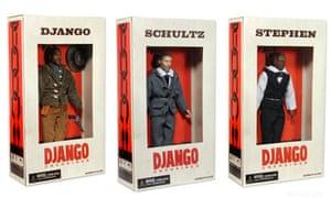 django unchained action figures