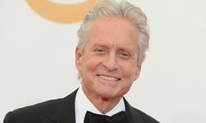 Michael Douglas at the Emmys in September 2013