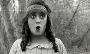 Mabel Normand in Won in a Cupboard (1914)