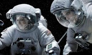 Gravity - Sandra Bullock and George Clooney