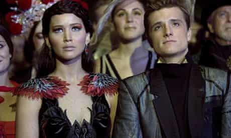 JENNIFER LAWRENCE & JOSH HUTCHERSON  Character(s): Katniss Everdeen, Peeta Mellark   Film 'THE HUNGE