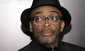 Spike Lee at an early screening of Old Boy in New York on 11 November 2013