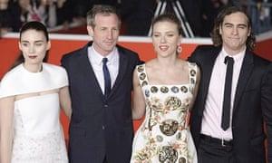 'Her' film premiere at the 8th International Rome Film Festival, Italy - 10 Nov 2013