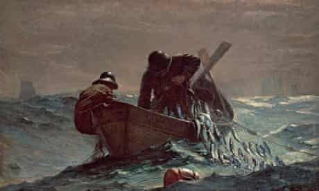 Leviathan: The Herring Net, 1885, by Winslow Homer