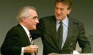 Robert De Niro and Martin Scorsese in 2002