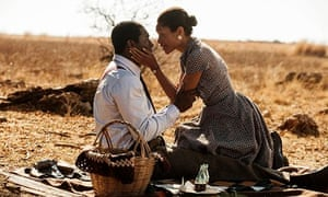 Idris Elba and Naomie Harris in Mandela: Long Walk To Freedom, which will be released in the US on C