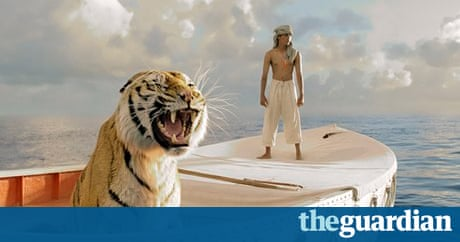 Life of pi tiger nearly drowned on set report alleges for Life of pi characters animals