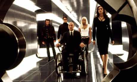 X-MEN, Hugh Jackman, James Marsden, Patrick Stewart, Halle Berry, Famke Janssen, 2000