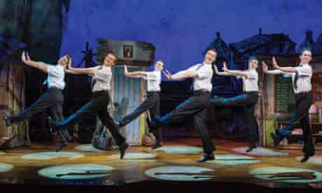 Scene from The Book of Mormon in London, 2013