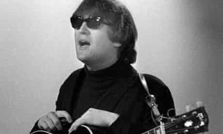 John Lennon in an image from Leslie Woodhead's book