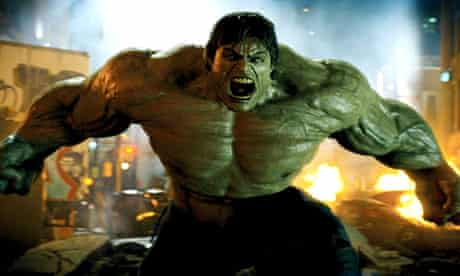 A still from The Incredible Hulk (2008).