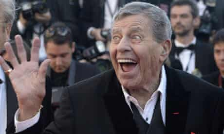 Jerry Lewis at the premiere of Max Rose in Cannes