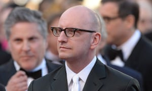 Steven Soderbergh attends the premiere to his latest and last feature film, Behind the Candelabra,
