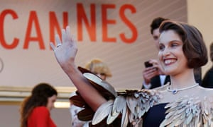 Cannes 2013: Laetitia Casta arrives at the closing ceremony of the 66th Cannes Film Festival