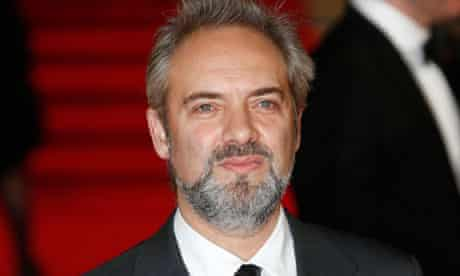 Sam Mendes at the London premiere of Skyfall.