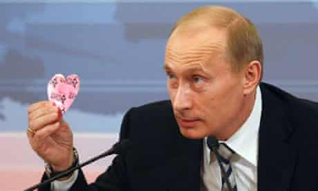 Heartache … the Bok o Bok festival originated in Saint Petersburg – Vladimir Putin's hometown.