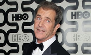 Mel Gibson at this year's Golden Globes ceremony.