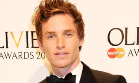 Eddie Redmayne, who is reportedly being lined up by Working Title to play Stephen Hawking.