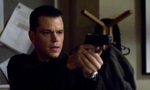 Target practised … Matt Damon in The Bourne Ultimatum.