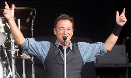 Springsteen parking ticket