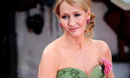 Options open … JK Rowling at the premiere of Harry Potter and the Deathly Hallows: Part 2.
