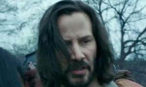Keanu Reeves in the 47 Ronin trailer: swords, dragons, furrowed