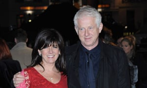 About Time for a change? … Richard Curtis with his wife, Emma Freud.