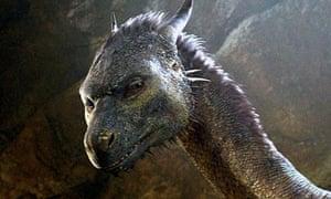 Lizard king … a still from the film Eragon (2006).