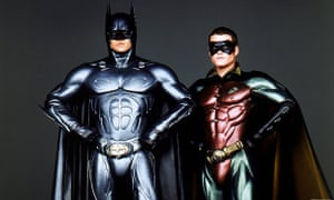 George Clooney and Chris O'Donnell in Batman & Robin, 1997