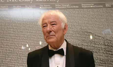Seamus Heaney has died aged 74.