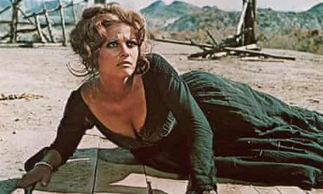 Claudia Cardinale in Once Upon a Time in the West