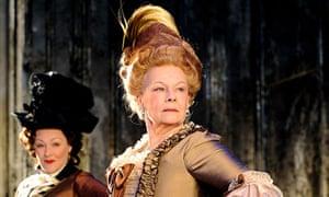 Judi Dench in Madame de Sade