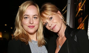Melanie Griffith and daughter Dakota Johnson