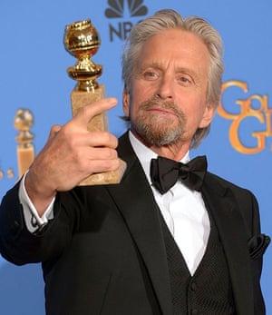 Golden Globes: Michael Douglas