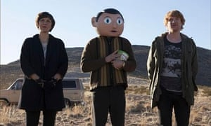 Maggie Gyllenhaal, Michael Fassbender Domhnall Gleeson in Frank, which is to premiere at Sundance 20