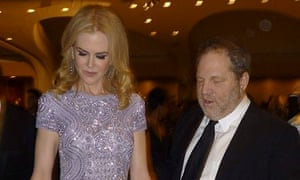 Nicole Kidman and Harvey Weinstein at last year's White House Correspondents' Association dinner.