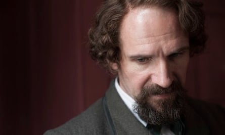 Ralph Fiennes as Charles Dickens in The Invisible Woman