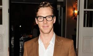 The required geek chops … Benedict Cumberbatch.